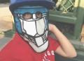 Transformers Mask Trucker Hat