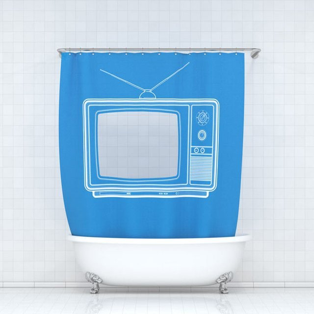 TV Shtorkus Bath Curtain