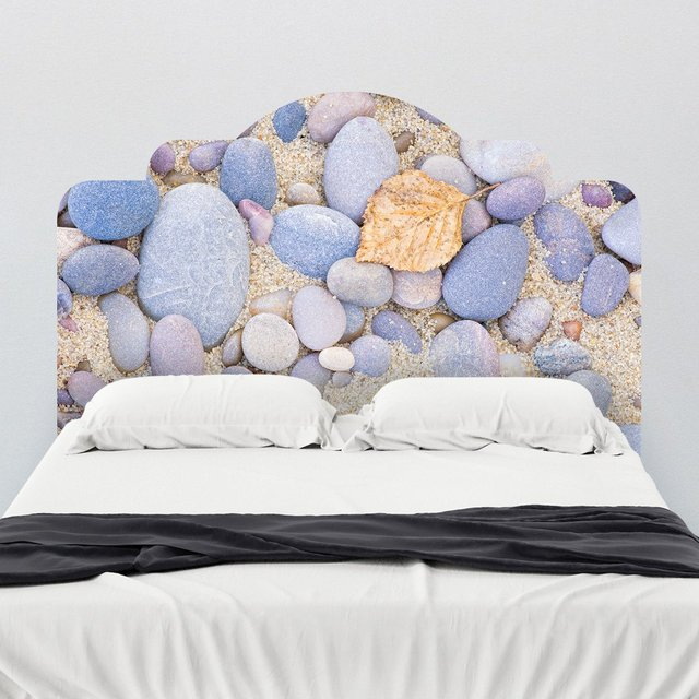 Pebble Beach Headboard Wall Decal