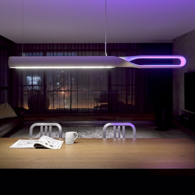 Infinito LED Suspension Lamp by QisDesign