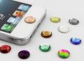 Crystal Home Button Sticker