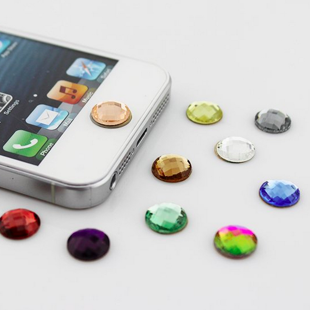 Crystal Home Button Sticker