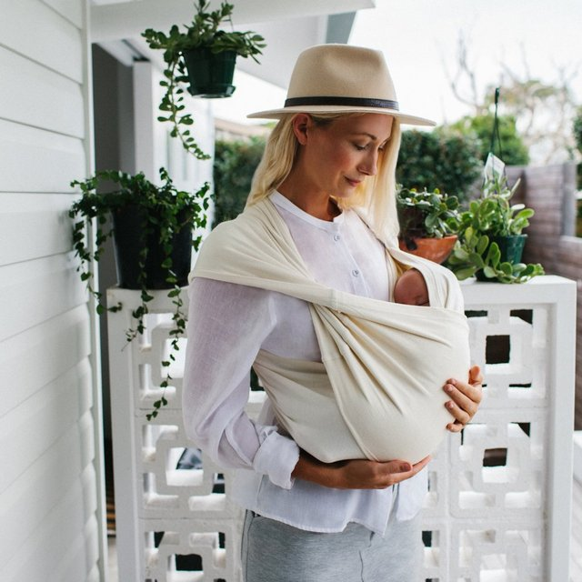 Nutmilk Organic Baby Carrier by Yoli & Otis