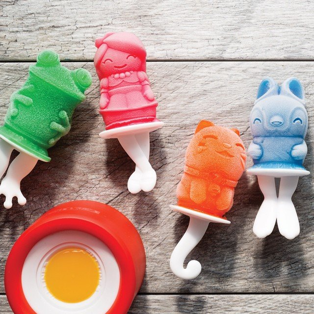 Zoku Character Ice Pop Molds