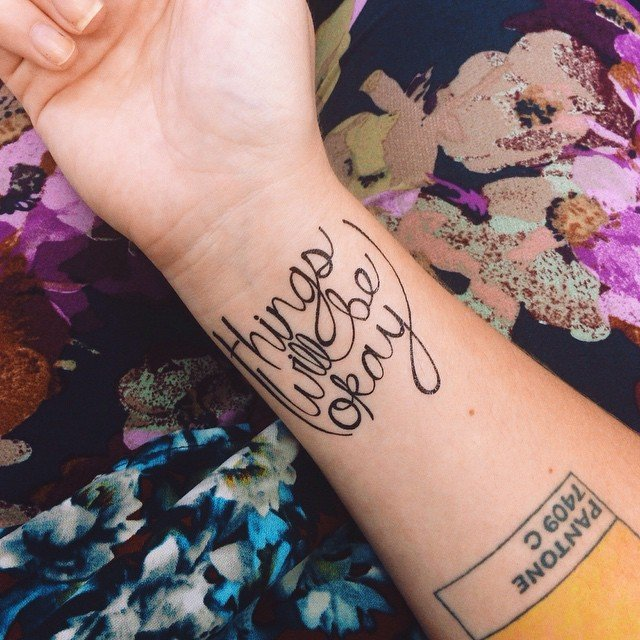 A-Okay Temporary Tattoo by Tattify