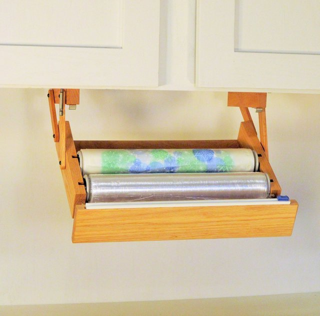 Ultimate Storage Under-Cabinet Cling Wrap Dispenser