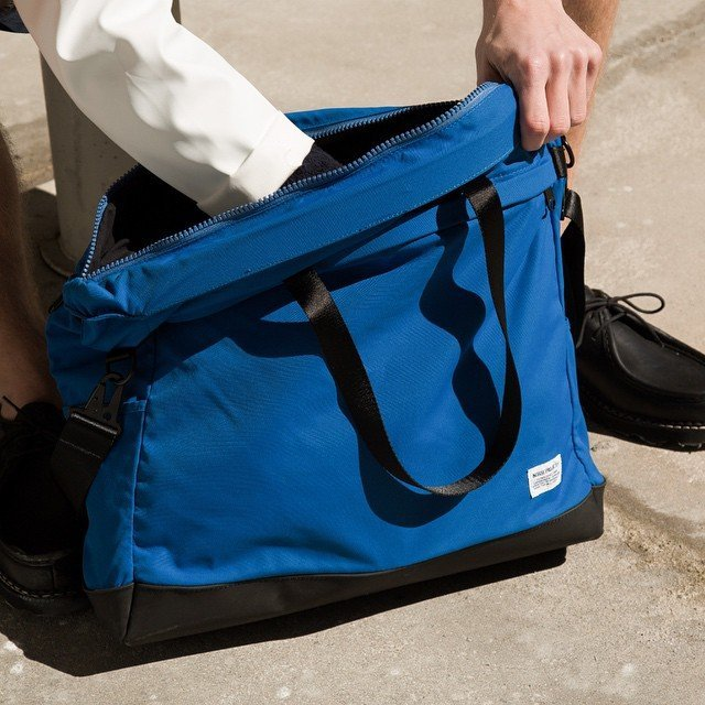 California Blue Aksel Porter Tote by Norse Projects
