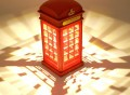 Telephone Booth Dimming Led Night Light