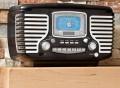 Corsair Clock Radio by Crosley