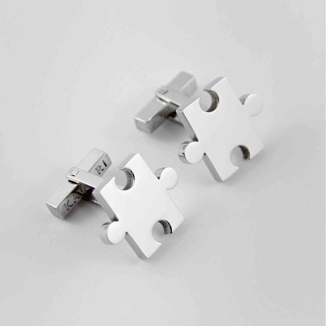 Puzzle Cufflinks by KAVALRI