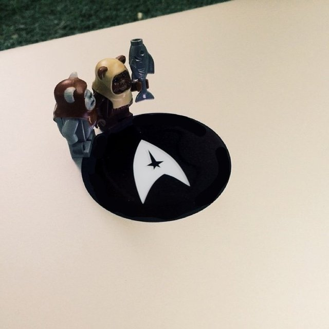 Star Trek Logo MacBook Decal