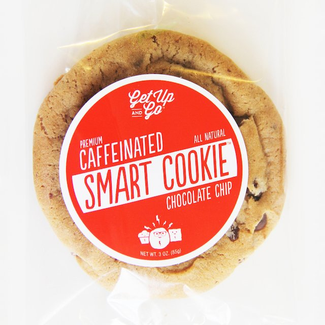 Caffeinated Smart Chocolate Chip Cookie 12 Pack