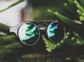 Inventor Round Revo Lens Flip Up Sunglasses