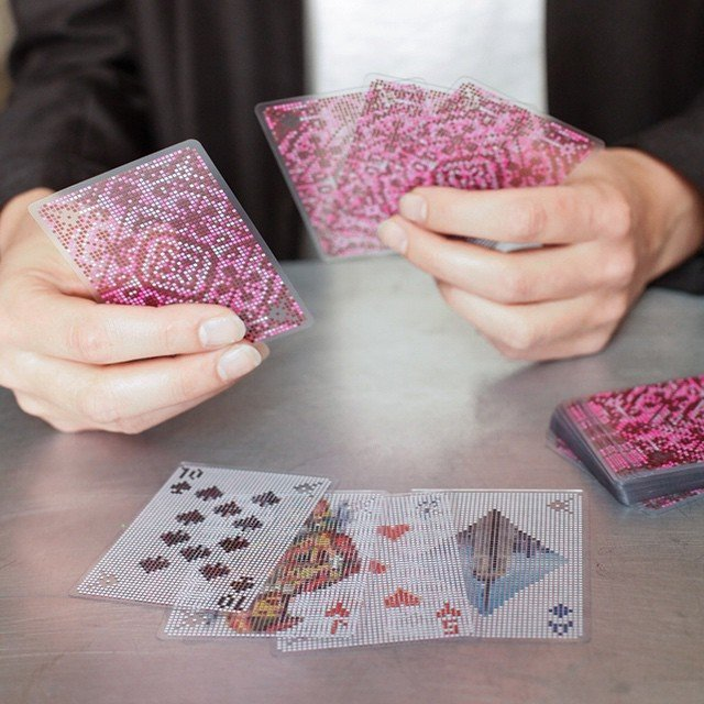 Pixel Playing Cards