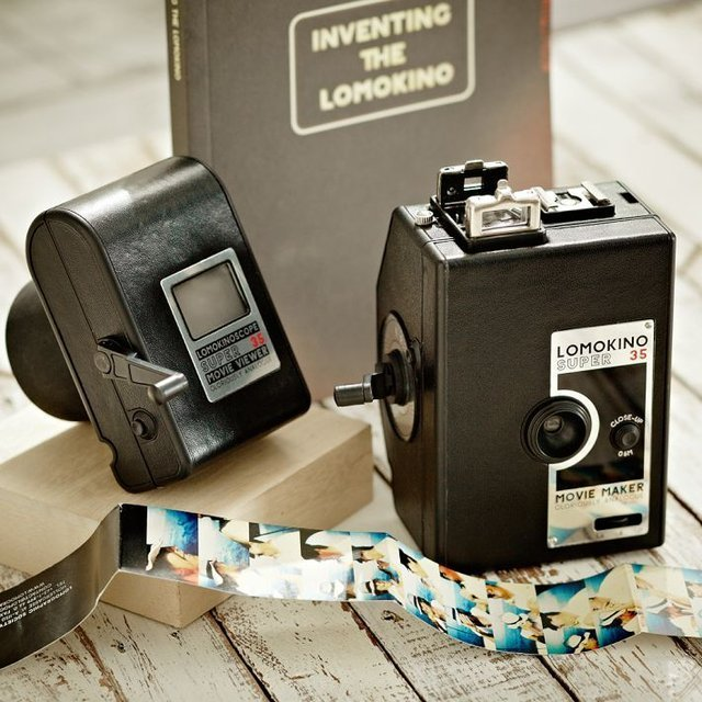 LomoKino 35mm Movie Camera & LomoKinoscope
