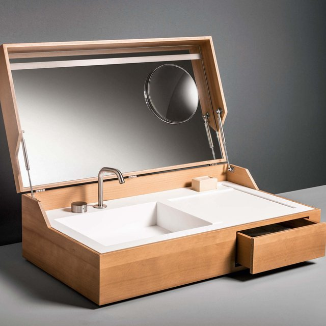 Hidden Washbasin by Makro