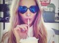 Black Lolita Sunglasses by Wildfox Sunwear
