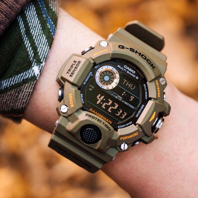 Triple Sensor Rangeman GW9400 Watch by G-Shock
