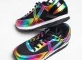 Rainbow Flash Sneakers