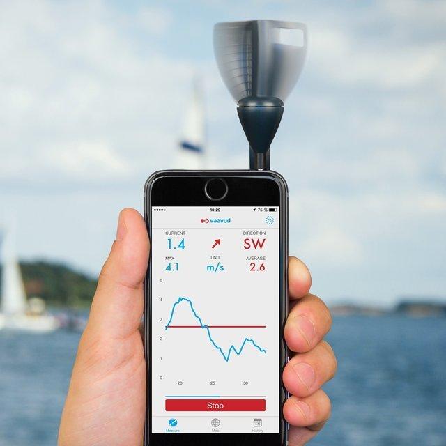 Smartphone v2 Wind Meter by Vaavud