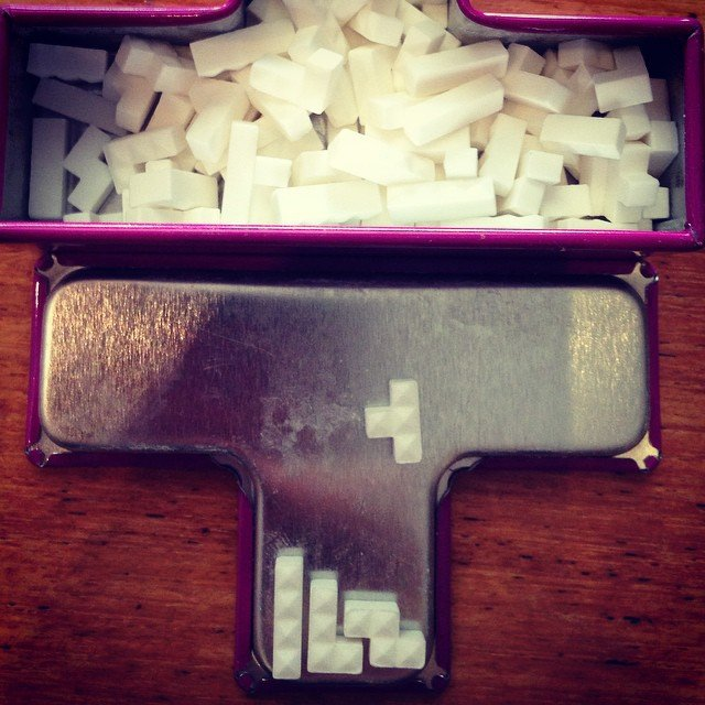 Tetris Tetrimino Mini Mints