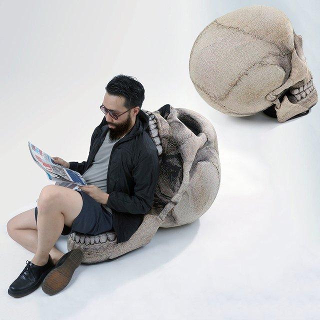 Folding Jaw Skull Chair