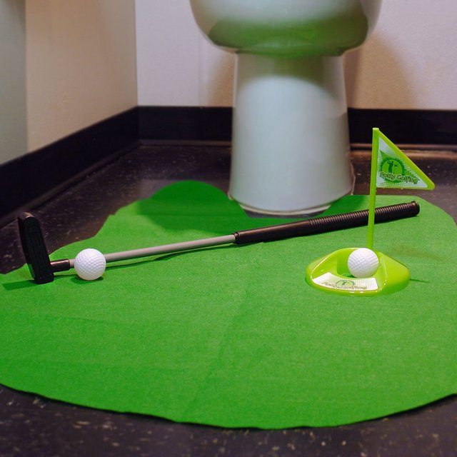 Putting Around Toilet Golf