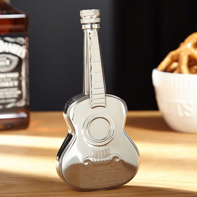 Tremolo Acoustic Guitar Flask