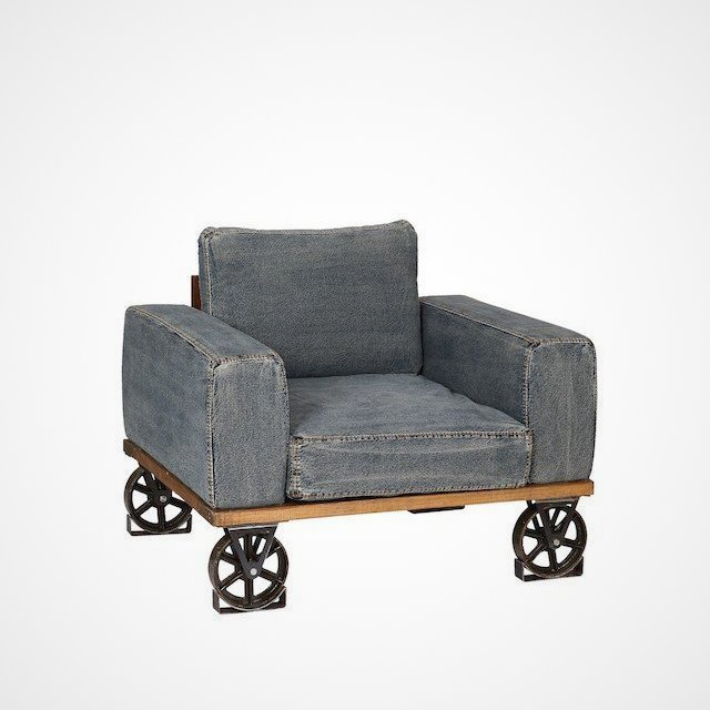 Denim Originals Armchair » Petagadget