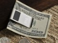 Personalized Silver and Carbon Fiber Money