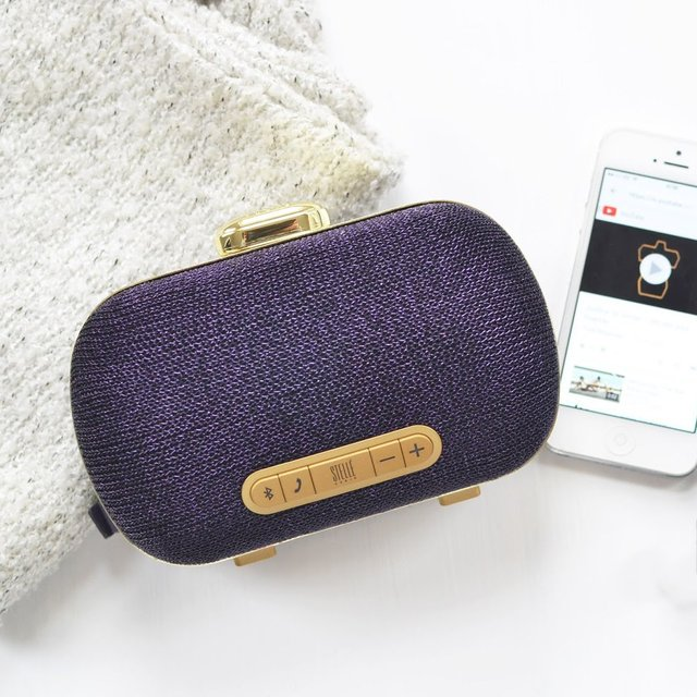 Mini-Clutch Speaker by Stellé Audio