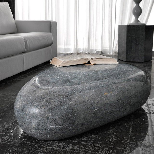 Stone Base Small Table