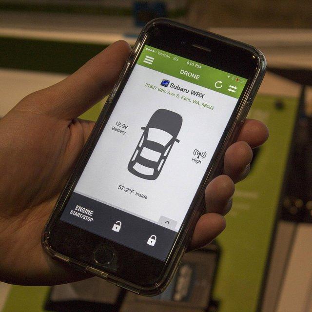 DroneMobile Smartphone Remote Start GPS System