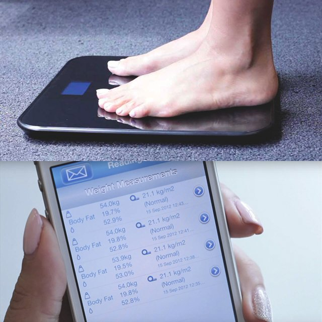 Wireless Smart Scale by BlueAnatomy