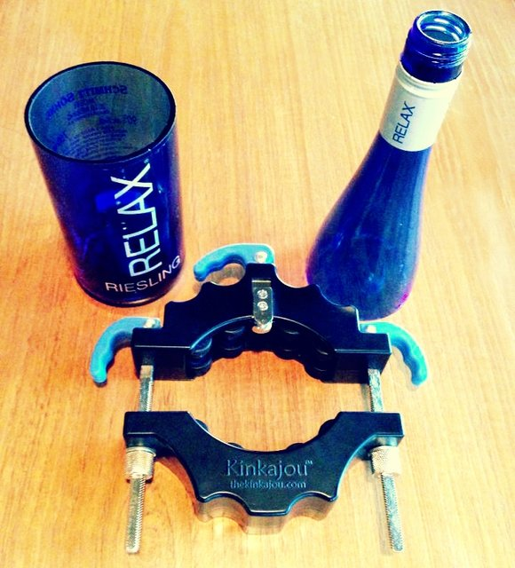 Kinkajou Glass Bottle Cutter