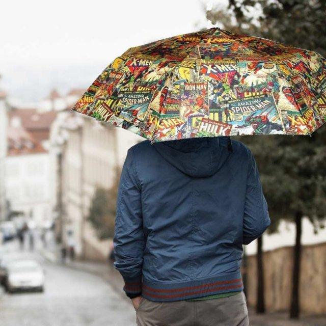 Marvel Comic Umbrella