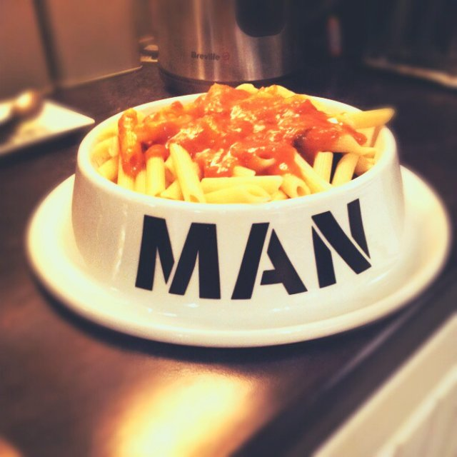 Man Bowl by thumbsUp!
