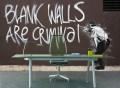 Blank Walls are Criminal Wall Mural
