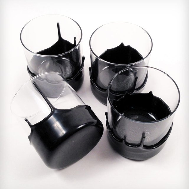 Hand Dipped Whiskey Glasses by Manready Mercantile