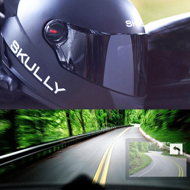 Heads Up Display Helmet by Skully