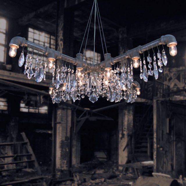 X Chandelier by Michael McHale Designs