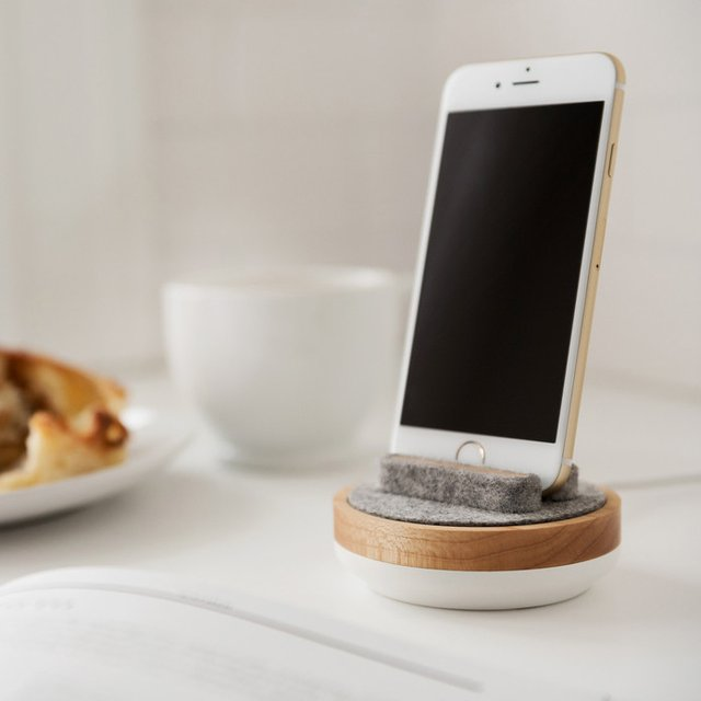 White Spool Dock by Quell & Company