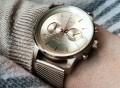 Gold Nevil Watch by TRIWA