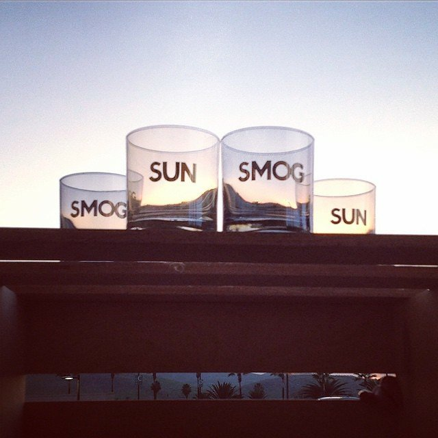 Sun & Smog Rocks Glasses by Sisters of Los Angeles