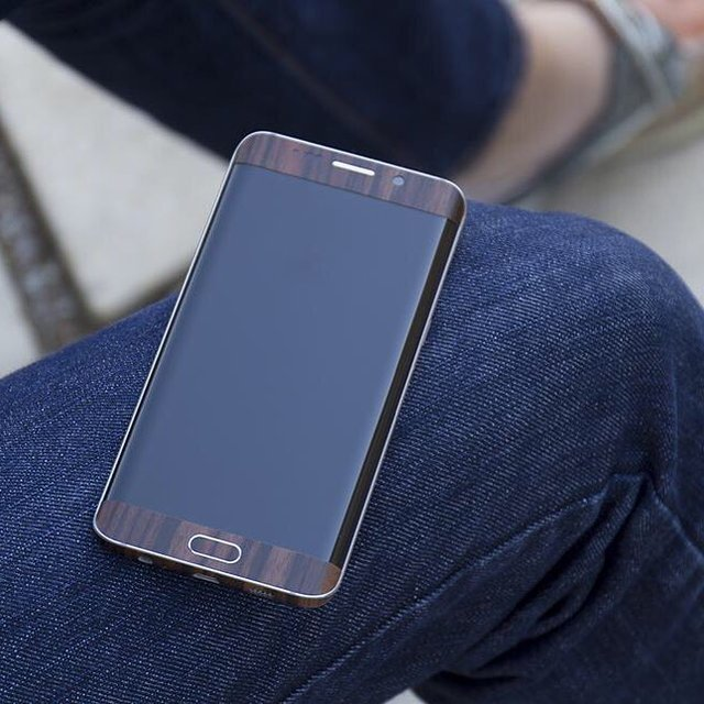 Wood Series Galaxy S6 Edge Wrap by SlickWraps