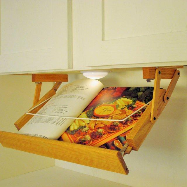 Under Cabinet Lighted Cookbook Holder