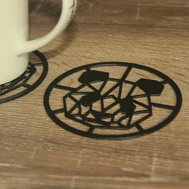 Panda Steel Coasters