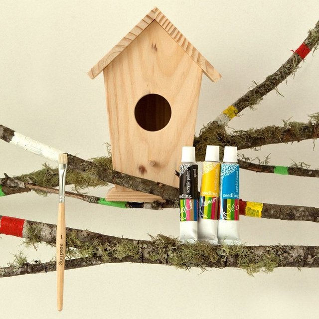 Design a Birdhouse Kit
