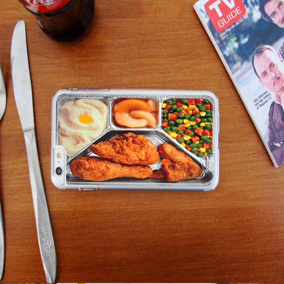 Retro TV Dinner Phone Case