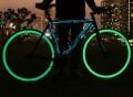 Glow in the Dark Bicycle Wheel Skins by Rimskin